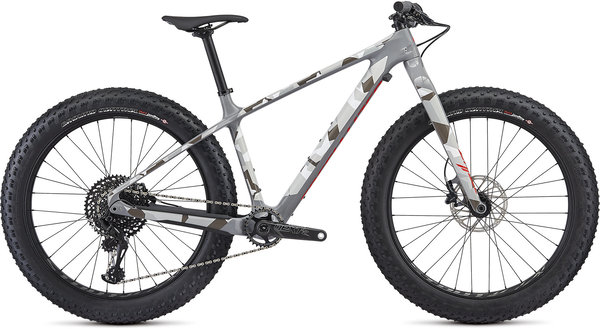 Specialized Fatboy Comp Carbon Color: Gloss Black/Charcoal/Rocket Red