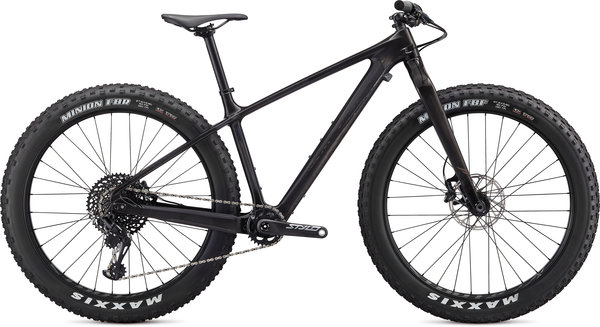 Specialized Fatboy Comp Carbon Color: Gloss Carbon/Gunmetal