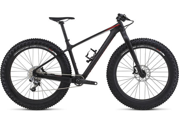 Specialized S-Works Fatboy Color: Satin Carbon/Gloss Black/Rocket Red