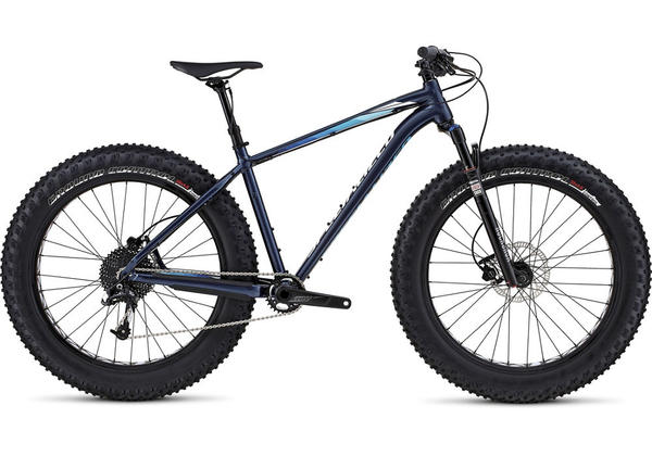 Specialized Fatboy Trail Color: Gloss Navy/White/Blue Fade