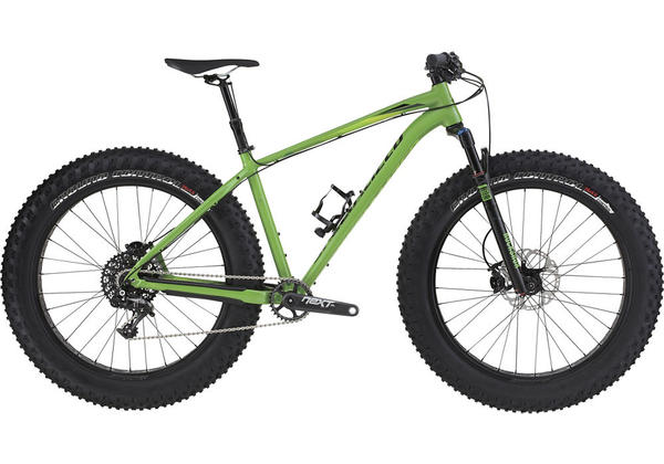 Specialized Fatboy Pro Trail Color: Gloss Moto Green/Black/Green Fade