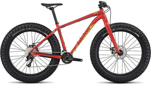 Specialized Fatboy SE Color: Gloss Nordic Red / Hyper