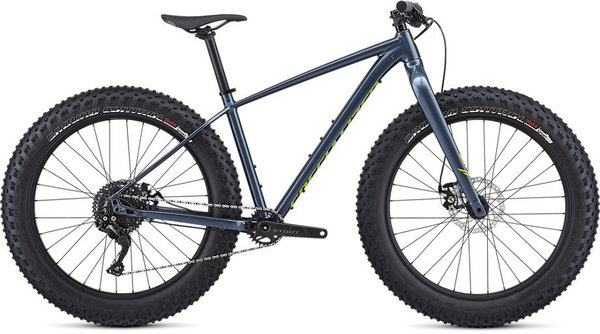 Specialized Fatboy SE Color: Gloss Cast Battleship/Hyper/Clean
