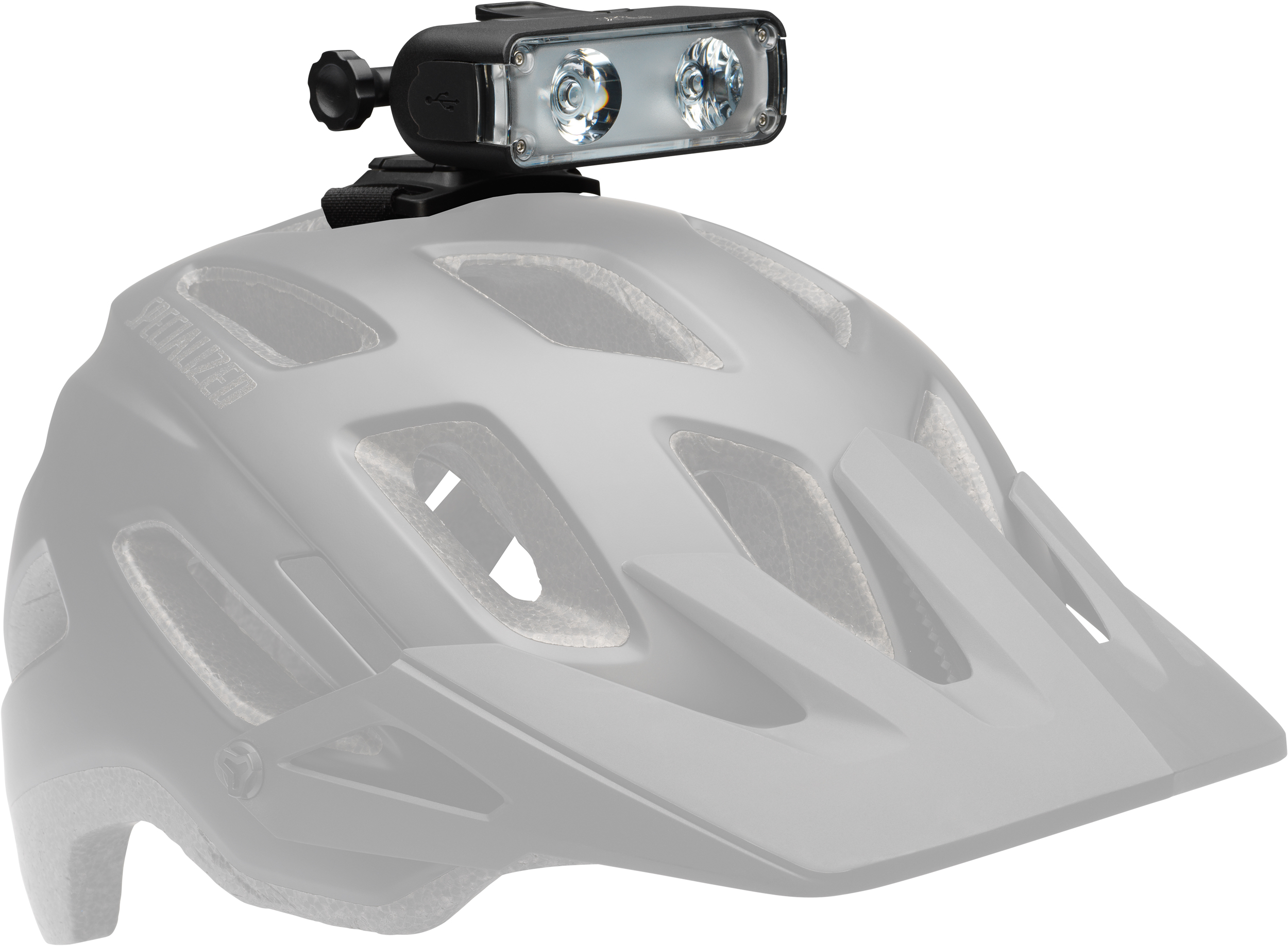 Specialized Flux 900/1200 Headlight Helmet Mount