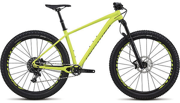 Specialized Fuse Comp 6Fattie Color: Gloss Hyper/Black Clean