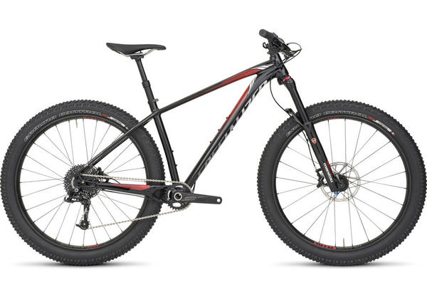 Specialized Fuse Expert 6Fattie Color: Gloss Black/Red/White