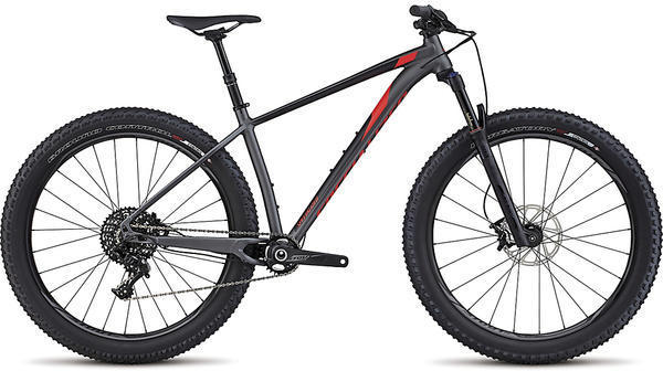 Specialized Fuse Expert 6Fattie Color: Satin Graphite/Black/Rocket Red