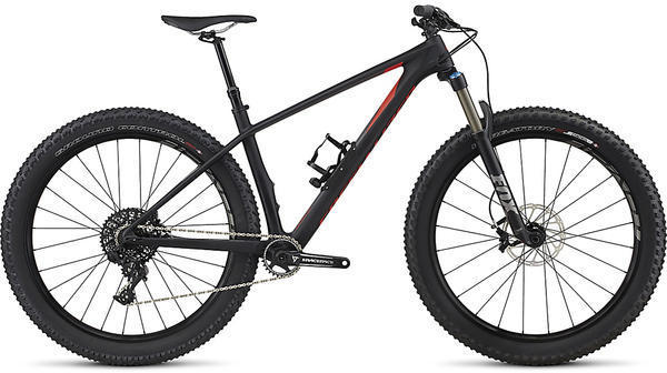 Specialized Fuse Expert Carbon 6Fattie Color: Satin Black/Charcoal/Nordic Red