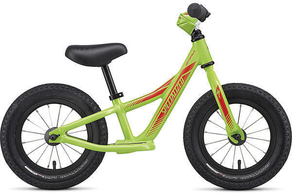 Specialized Boy's Hotwalk Color: Monster Green/Nordic Red