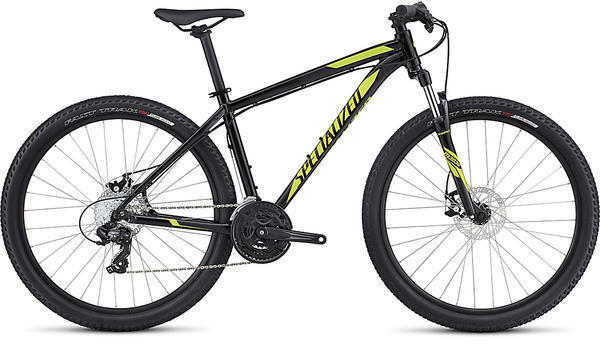 Specialized Hardrock Disc 650b Color: Gloss Black/Satin Black/Hyper Green