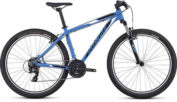 Specialized Hardrock 650b Color: Gloss Neon Blue/Black/White