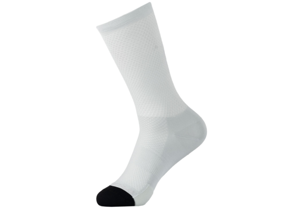 Specialized Hydrogen Vent Tall Sock Color: Dove Grey