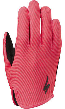 Specialized Kids' LoDown Gloves Color: Acid Red