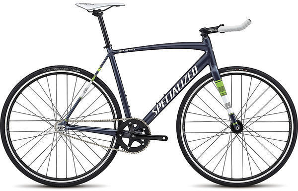 Specialized Langster Street Color: Ink/Metallic White Silver/Monster Green