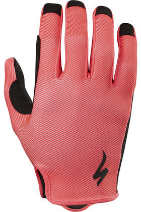 Specialized LoDown Gloves Color: Acid Red