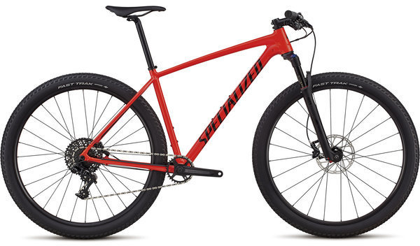 Specialized Men's Chisel Expert - 1x Color: Gloss Rocket Red/Black