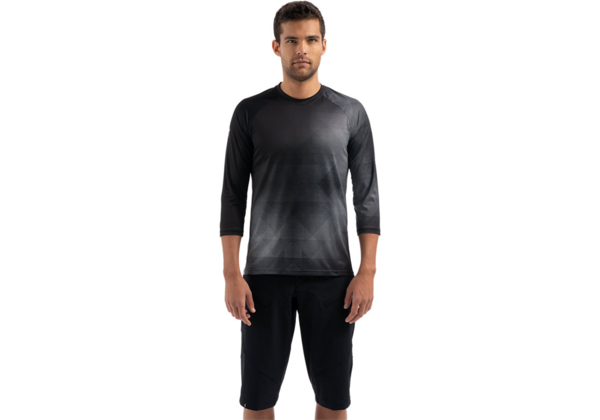 Specialized Men's Demo 3/4 Jersey Color: Black/Charcoal Refraction