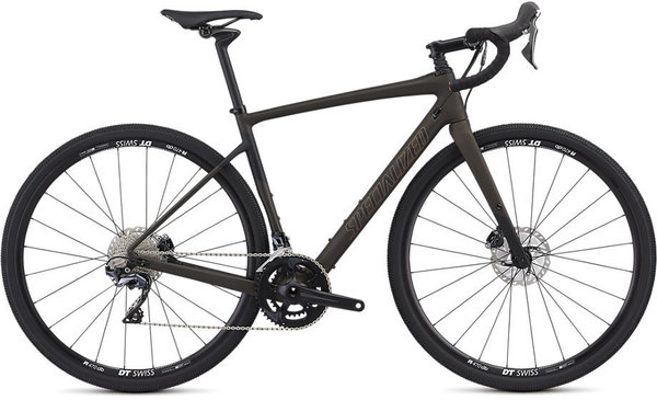 Specialized Men's Diverge Comp Color: Satin Brown Tint/Black/Copper
