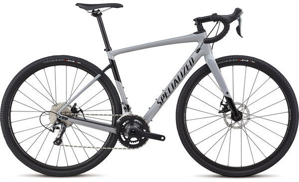 Specialized Men's Diverge Sport Color: Gloss Cool Grey/Black