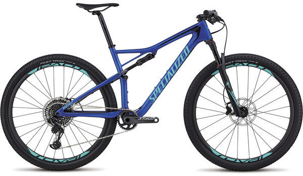 Specialized Men's Epic Pro Color: Gloss Acid Blue/Acid Mint/Black