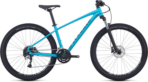 Specialized Men's Pitch Comp Color: Gloss Nice Blue/Tarmac Black/Clean