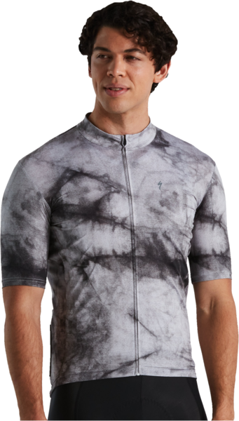 Specialized Men's RBX Marbled Jersey Short Sleeve Color: Dove Grey