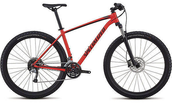 Specialized Men's Rockhopper Comp Color: Gloss Rocket Red/Black/Charcoal