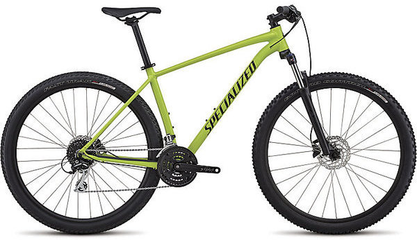 Specialized Men's Rockhopper Sport Color: Gloss Hyper/Black/Clean