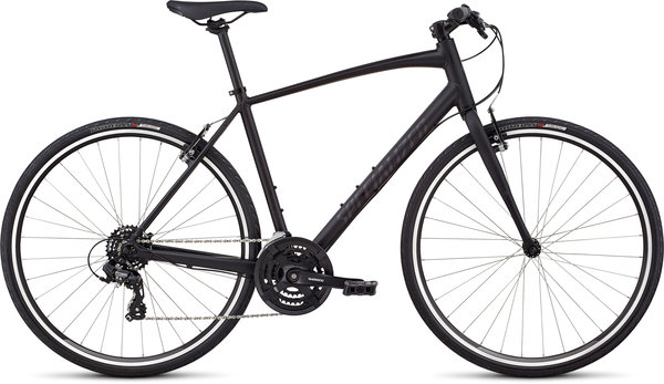 Specialized Men's Sirrus – V-Brake Color: Black/Gloss Black/Black Reflective