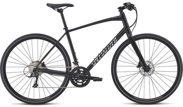 Specialized Men's Sirrus Sport (d8) Color: Black Chrome/Chrome
