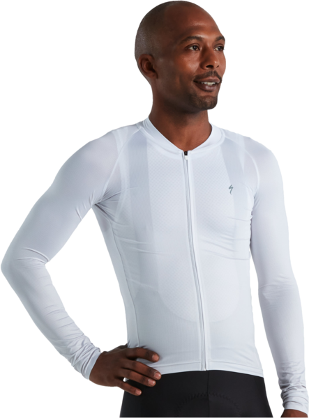 Specialized Men's SL Air Fade Jersey Long Sleeve Color: Dove Grey