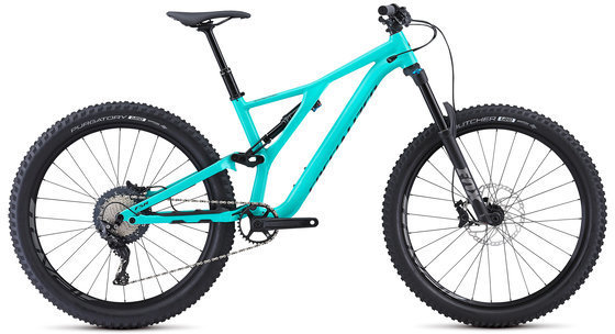 Specialized Men's Stumpjumper Comp Alloy 27.5 Color: Acid Mint/Black