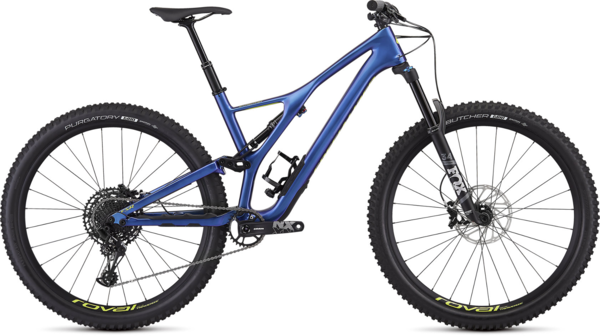 Specialized Men's Stumpjumper Comp Carbon 29 - 12-Speed Color: Gloss Chameleon / Hyper
