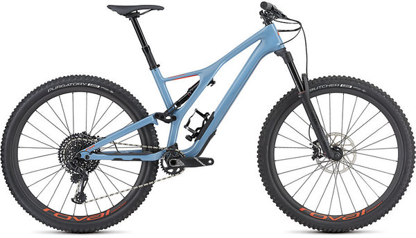 Specialized Men's Stumpjumper Expert 29 Color: Gloss/Storm Grey/Rocket Red