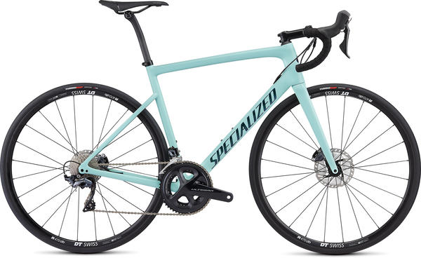 Specialized Men's Tarmac Disc Comp Color: Gloss Cosmic Mint/Oil Chameleon/Clean