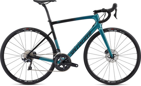 Specialized Men's Tarmac Disc Comp – Sagan Collection LTD Color: Dark Teal/Charcoal