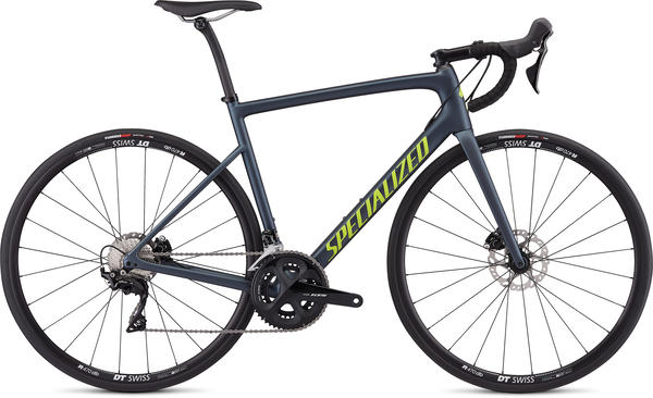 Specialized Men's Tarmac Disc Sport Color: Satin Cast Battleship/Hyper/Clean