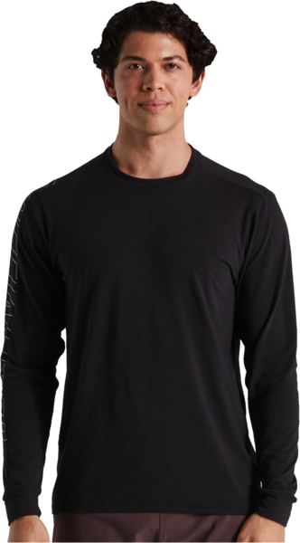 Specialized Men's Trail Jersey Long Sleeve Color: Black