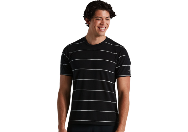 Specialized Men's Trail Stripe Short Sleeve Tech Tee