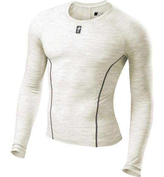 Specialized Merino Baselayer, Long Sleeve Color: Natural White