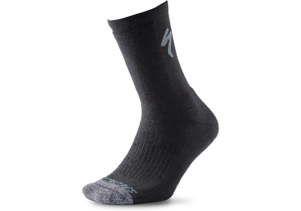 Specialized Merino Deep Winter Tall Sock Color: Black