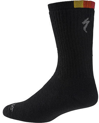 Specialized Merino Tall Socks Color: Black