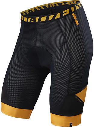 Specialized Mountain Liner Short w/SWAT Color: Black/Gallardo Orange