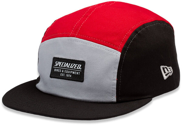 Specialized New Era 5-Panel Specialized Hat Color: Black/Red