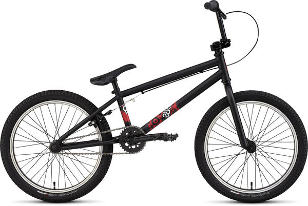 Specialized P.20 Grom Color: Satin Black/Red/White