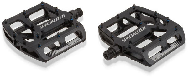 Specialized Bennies Platform Pedals Color: Black Ano