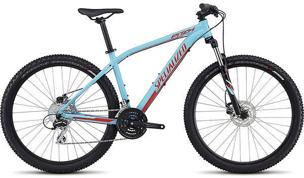 Specialized Pitch 650b Color: Gloss Light Blue/Nordic Red