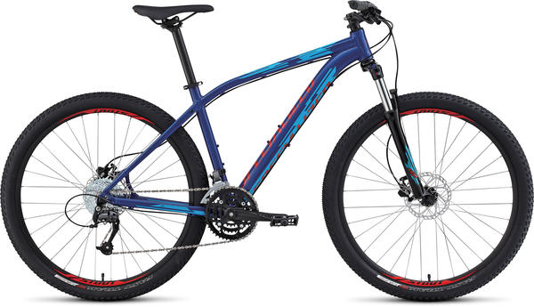 Specialized Pitch Comp 650B Color: Gloss Royal Blue/Cyan/Red