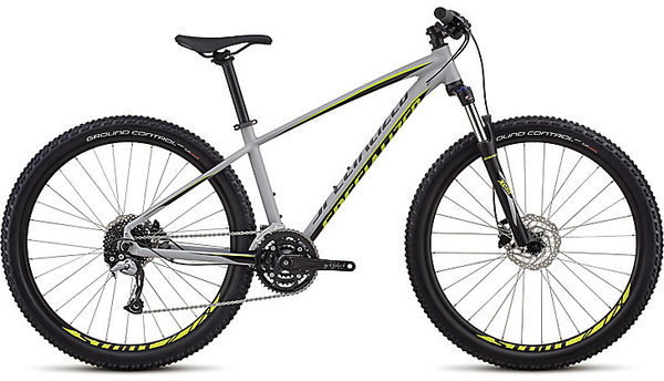 Specialized Men's Pitch Comp 27.5 Color: Satin Gloss Cool Grey/Black/Hyper
