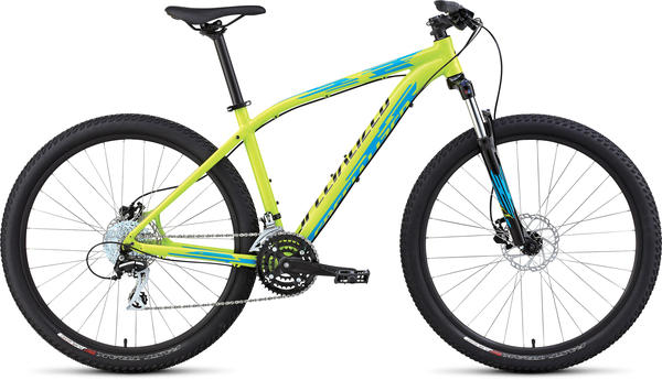 Specialized Pitch Sport 650B Color: Gloss Hyper/Cyan/Black